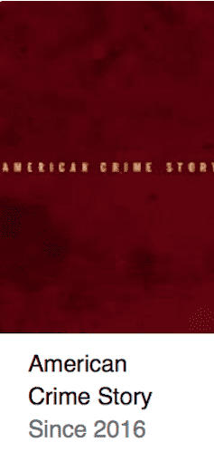 American Crime Story Best TV Shows