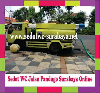 Sedot WC Pandugo Surabaya
