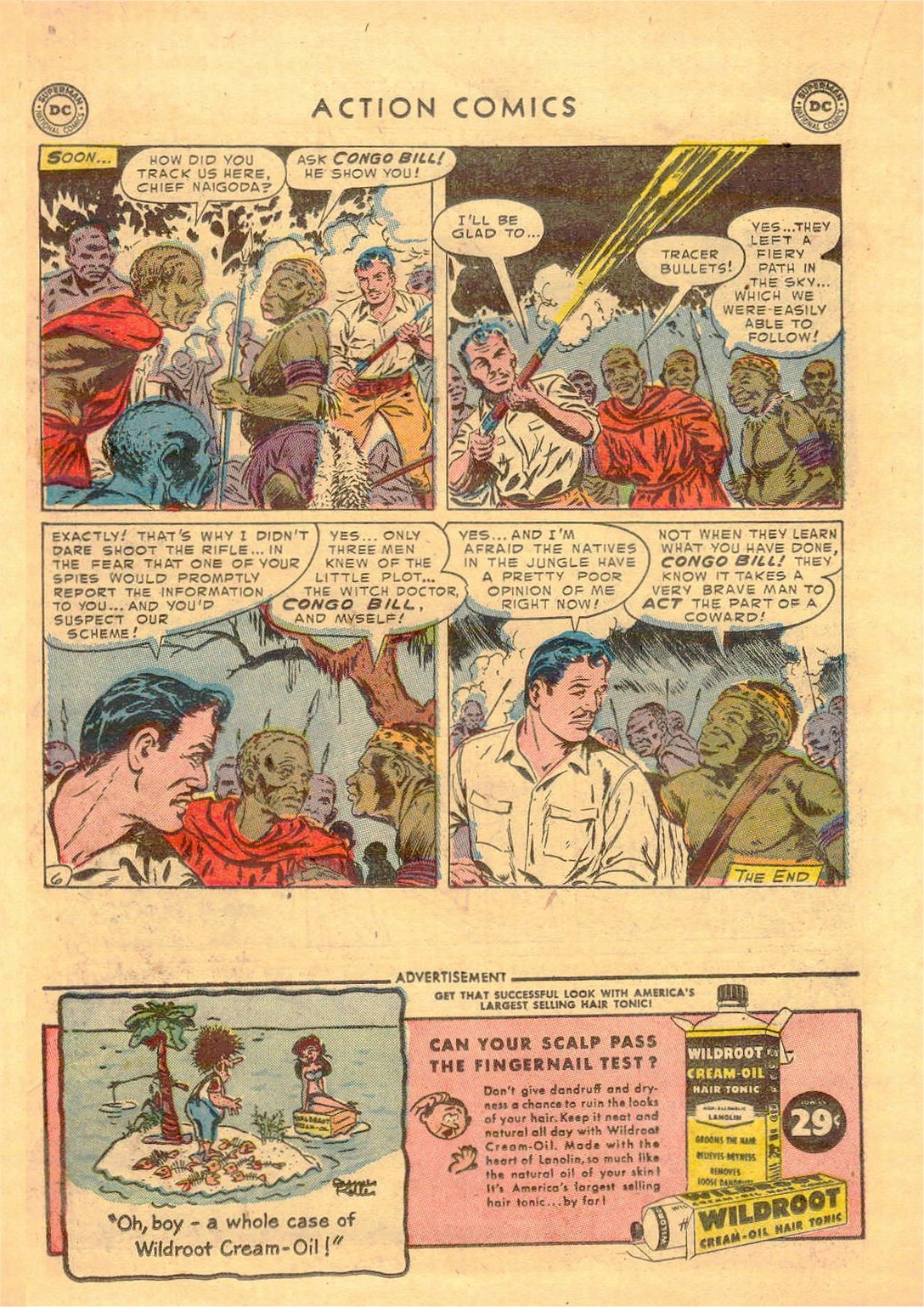 Read online Action Comics (1938) comic -  Issue #181 - 21