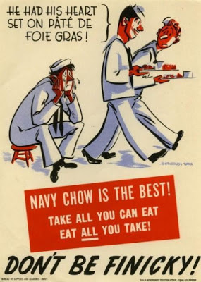 Navy chow is the best