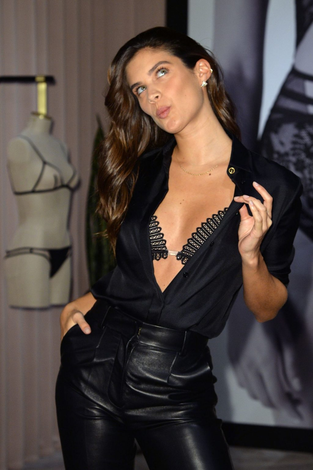 Sara Sampaio - Launch of LIVY at Victoria's Secret in New York City - 02/12/2019
