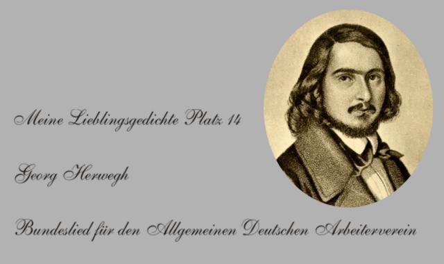 Georg Herwegh-Lieblingsgedichte