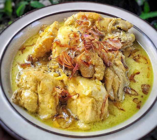 resep opor ayam kuning