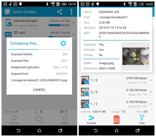 Search Duplicate File full apk