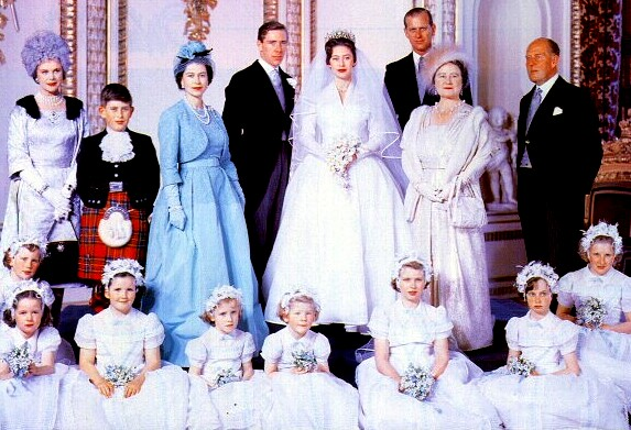 From Her Majesty S Jewel Vault Flashback The Wedding Of Princess