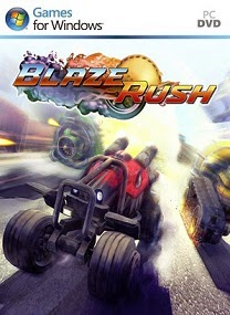 Free Download BlazeRush PC Game is a dynamic arcade racing survival game with no health BlazeRush-SKIDROW