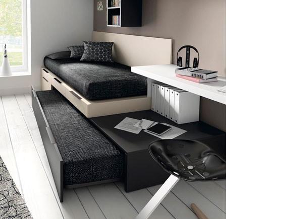Dormitorios juveniles en colores arena - Rapimueble dormitorios ...