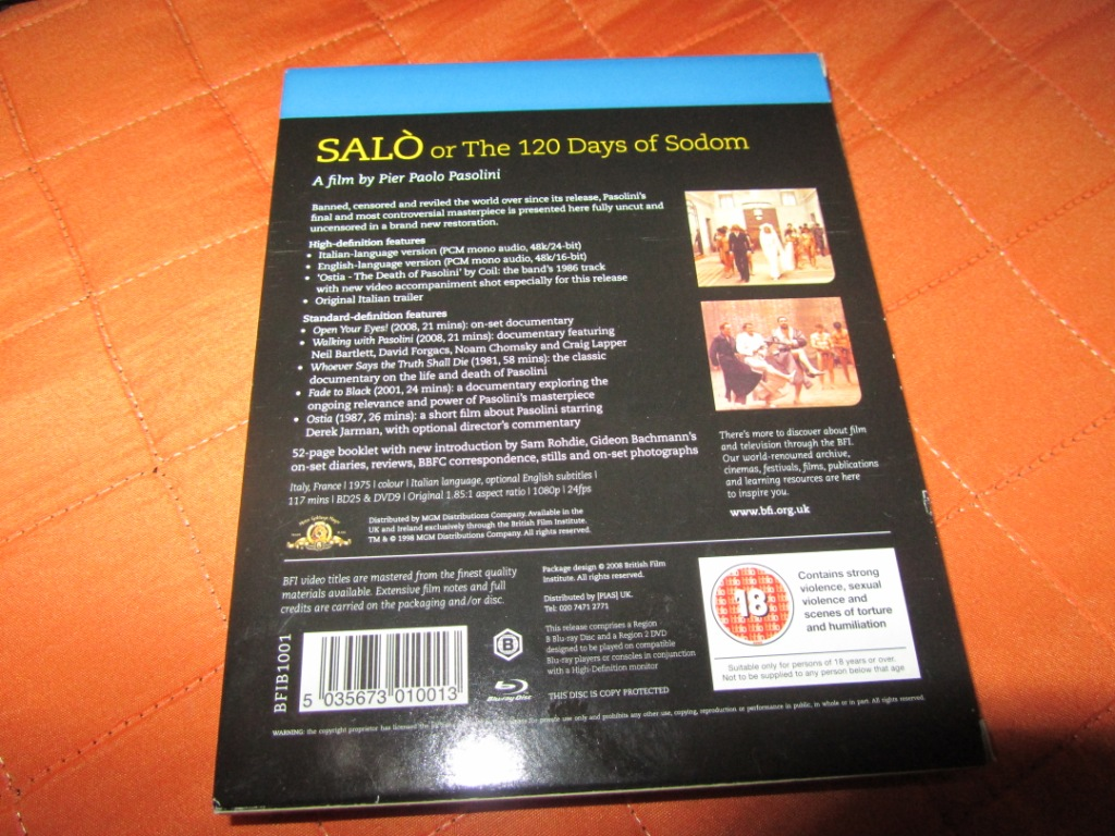 Moovi Rafa Collection: Salò Or The 120 Days Of Sodom With Fully