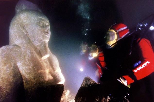 Patung dewa Hopi, dewa Sungai Nil