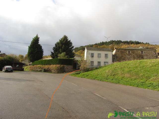 Peñafuente, inicio de la ruta siguiendo el camino de Santiago