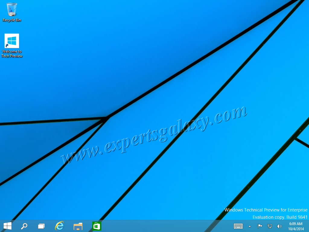 Windows 10 Without Start Screen