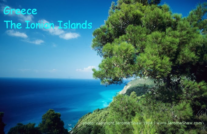 Greece: The Ionian Islands Copyright Jerome Shaw 1984 / www.JeromeShaw.com
