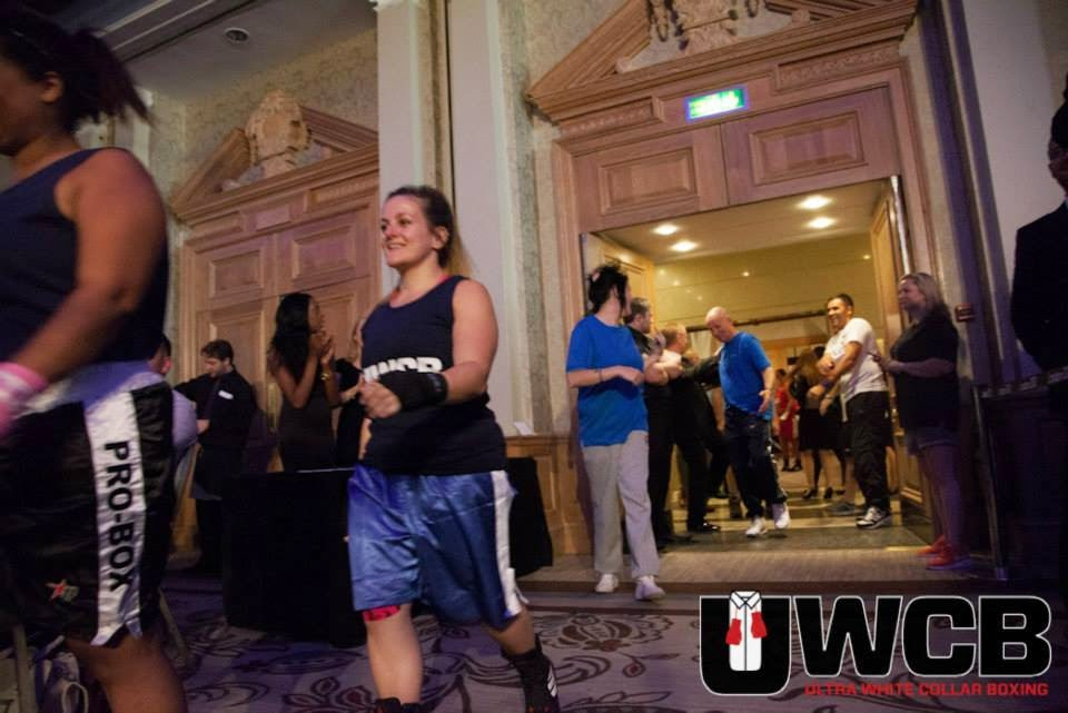 Ladies Ultra White Collar Boxing - Brighton - Tess Agnew