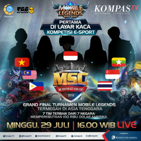 Wow! Mobile Legends Masuk TV Swasta Sebagai Acara E-Sports