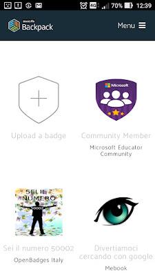 Inserire badges collezioni