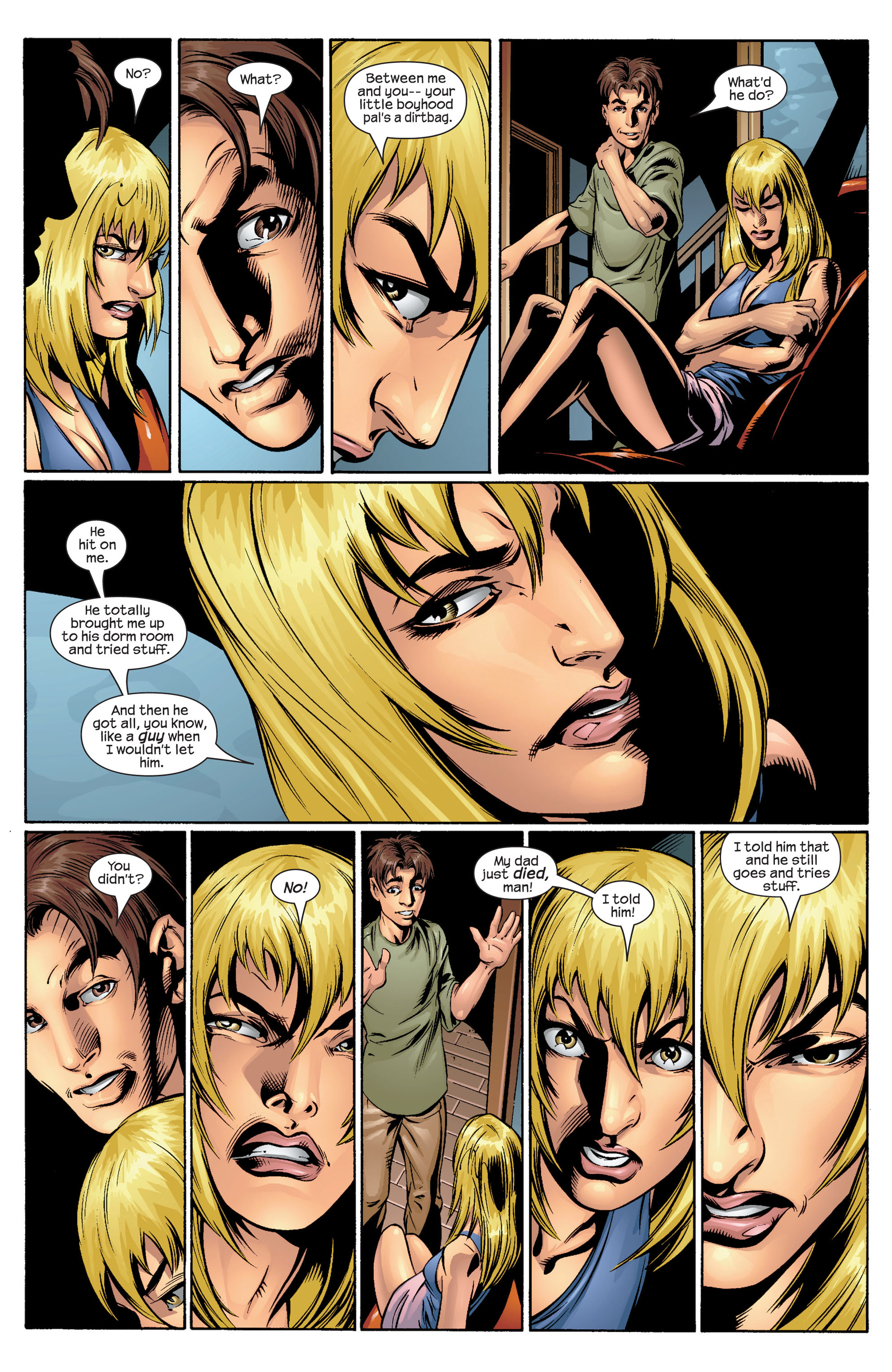 Read online Ultimate Spider-Man (2000) comic -  Issue #36 - 19
