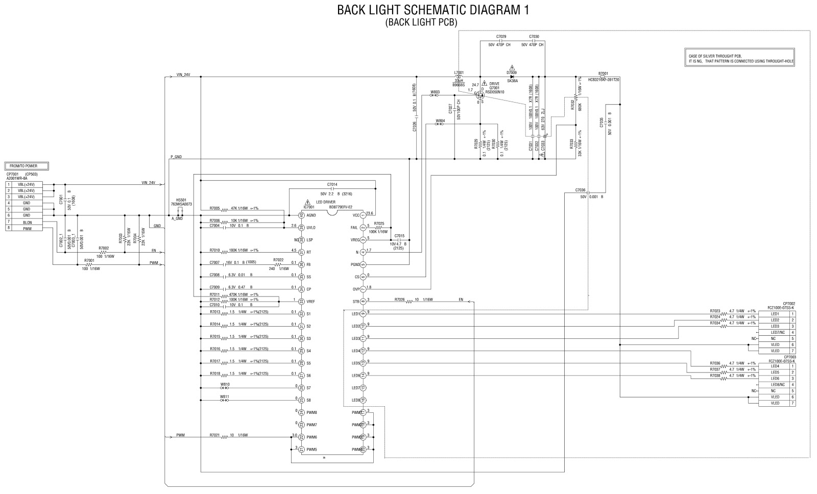 smps and back light inverter board circuit diagram [ 1600 x 968 Pixel ]