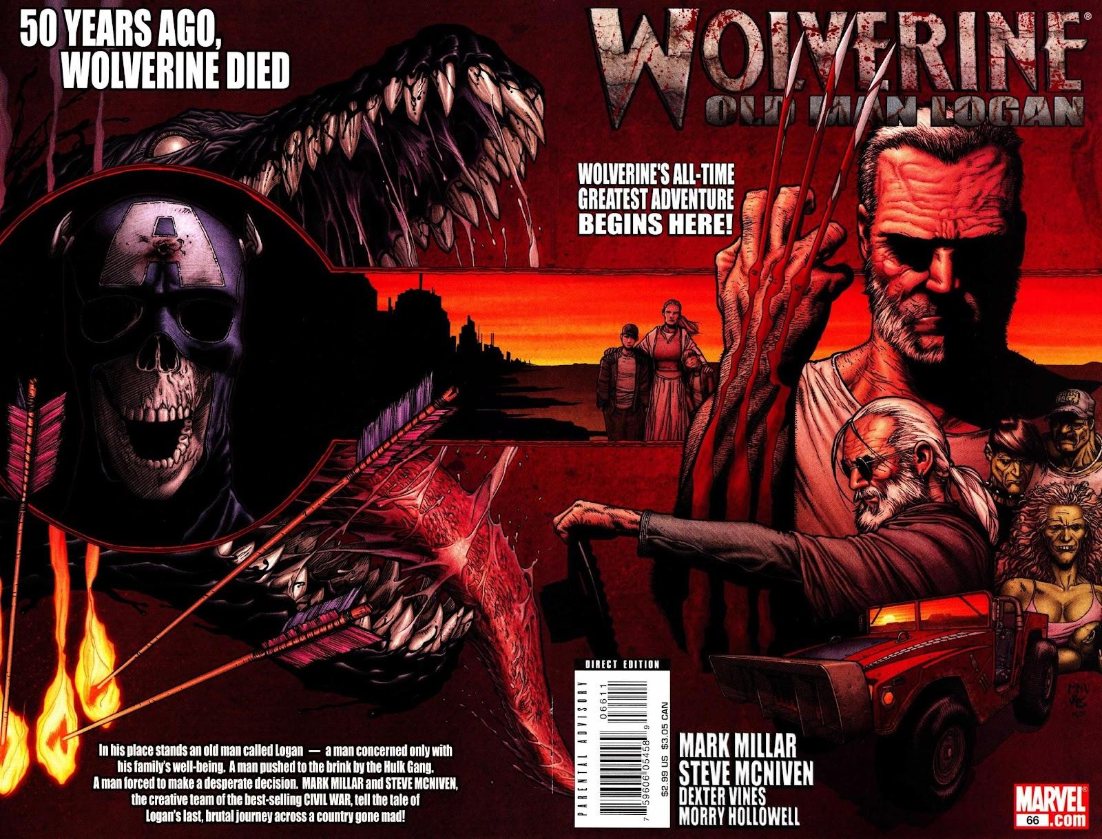 Read online Wolverine (2003) comic -  Issue #66 - 1