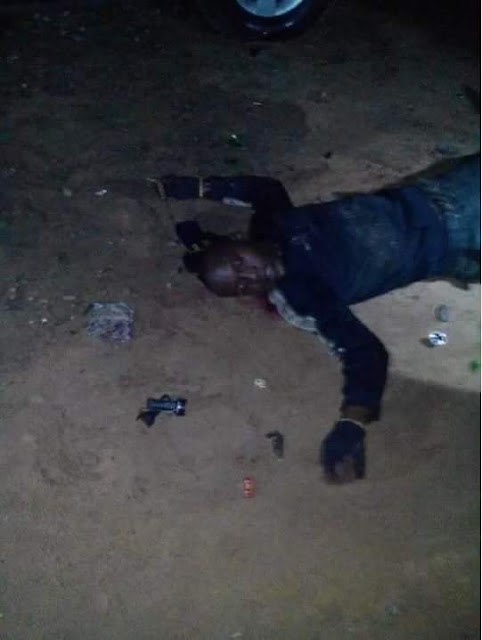 Photos: Suspected sea pirates attack Marine Police Base in Bayelsa, kill two officers