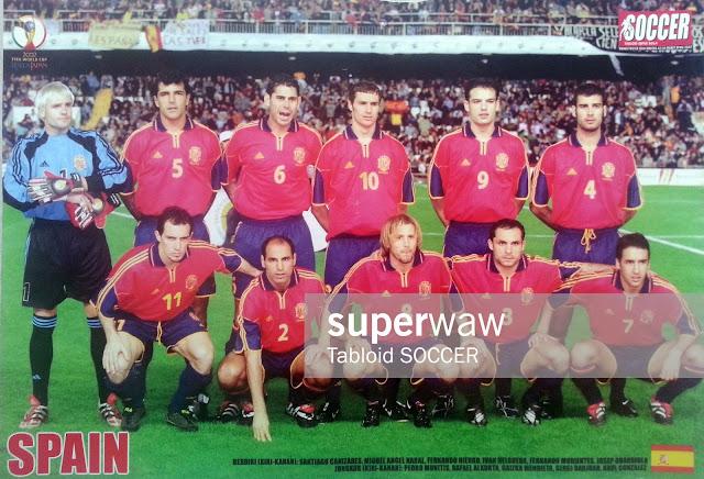 Poster Team Spain 2002