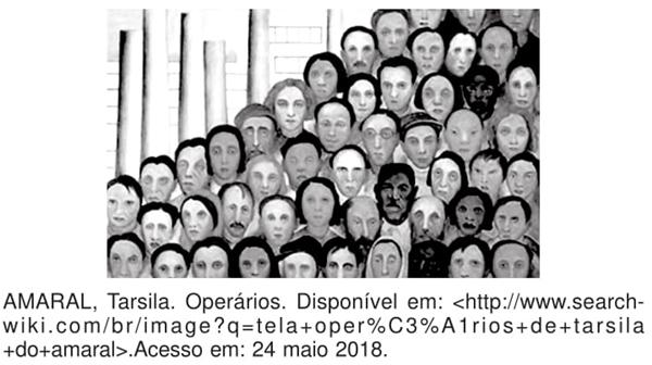 Operários Tarsila Amaral