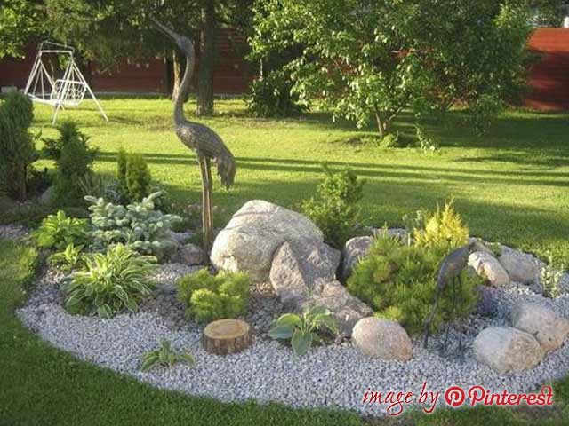 How To Build A Rock Garden Front Yard And Backyard Landscaping Ideas