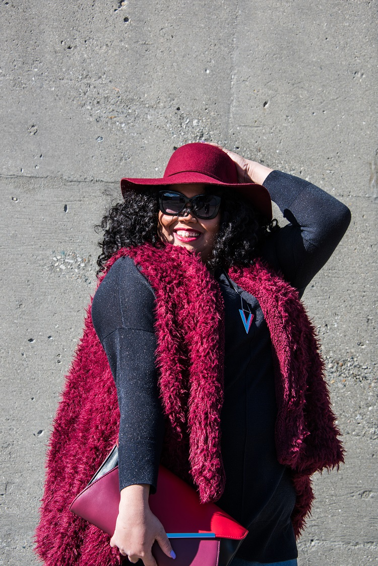 How to maintain comfort in your fall wardrobe - Eclectic Kurves - Click through to find out what she and other bloggers have to say on this topic!