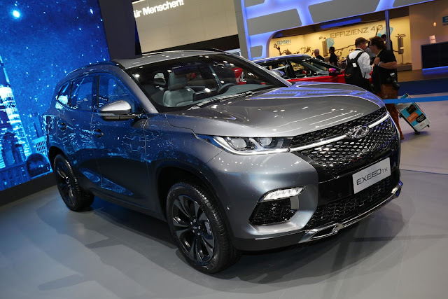 Chery Exeed TX the first Chinese SUV ready for Europe