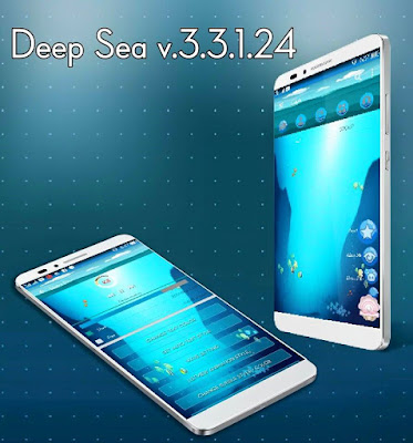 BBM CHAT ME - Deep Sea Theme v3.3.1.24 APK Terbaru April 2017 Gratis