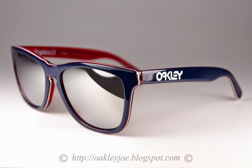 f4737179654fb oakley frogskins lx. Oakley Frogskins LX Navy W  Chrome - Iridium Óculos de  Sol na eÓtica