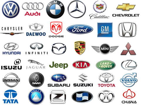 Foreign Car Symbols car manufacture...