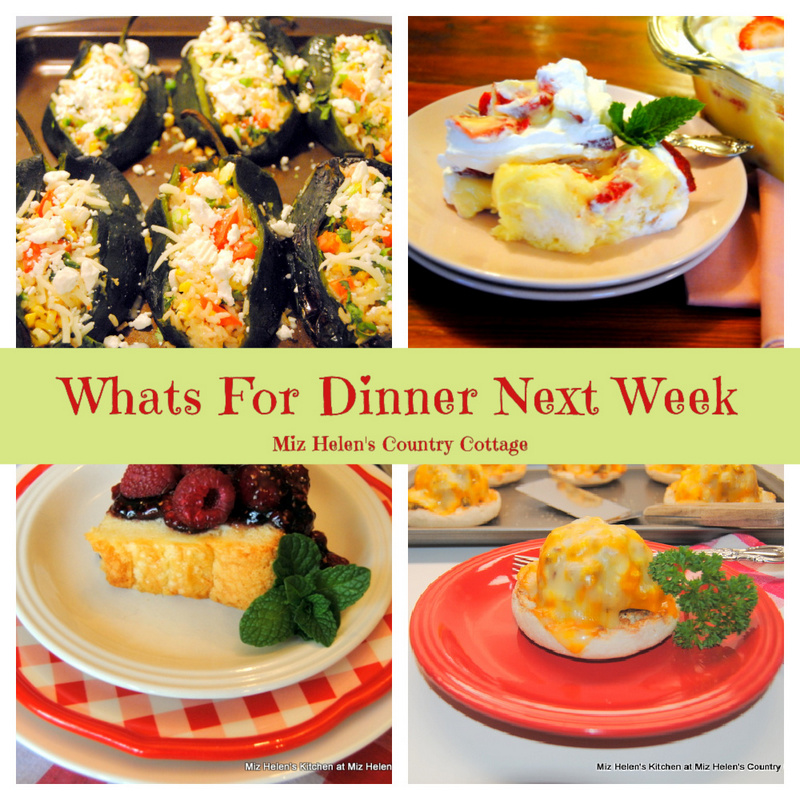 Whats For Dinner Next Week * Week of 4-11-21