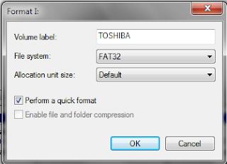 cara memperbaiki flashdisk minta format terus menerus