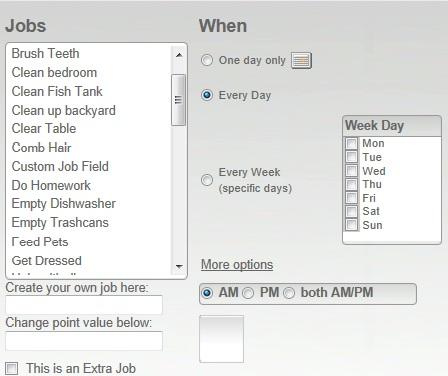 FREE Online Chore Chart! - Surviving A Teacher\u0027s Salary - chore chart online