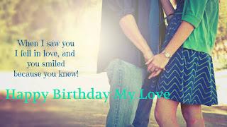 Romantic Birthday Status, Love Birthday Status, Short Love Quotes