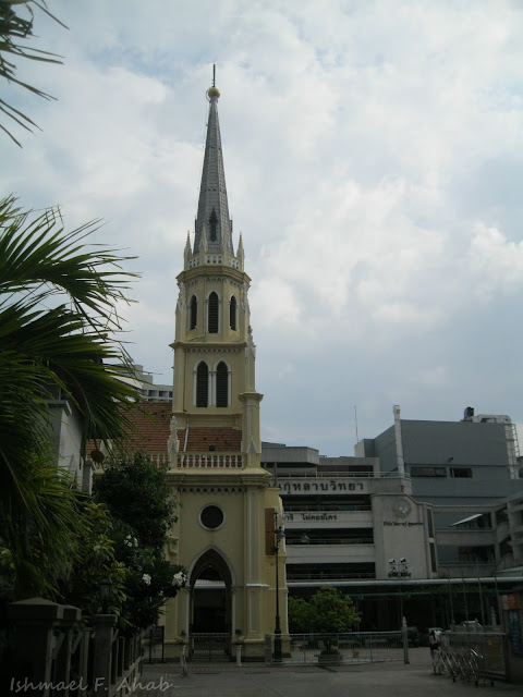 Side view of Kalawar Church