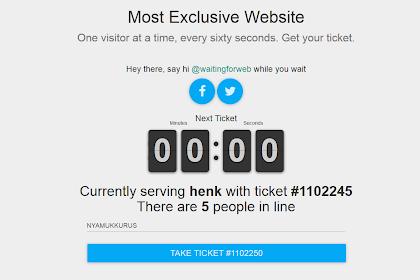 Most Exclusive Website - Mau Mencoba Masuk Ke Situs Ini ?