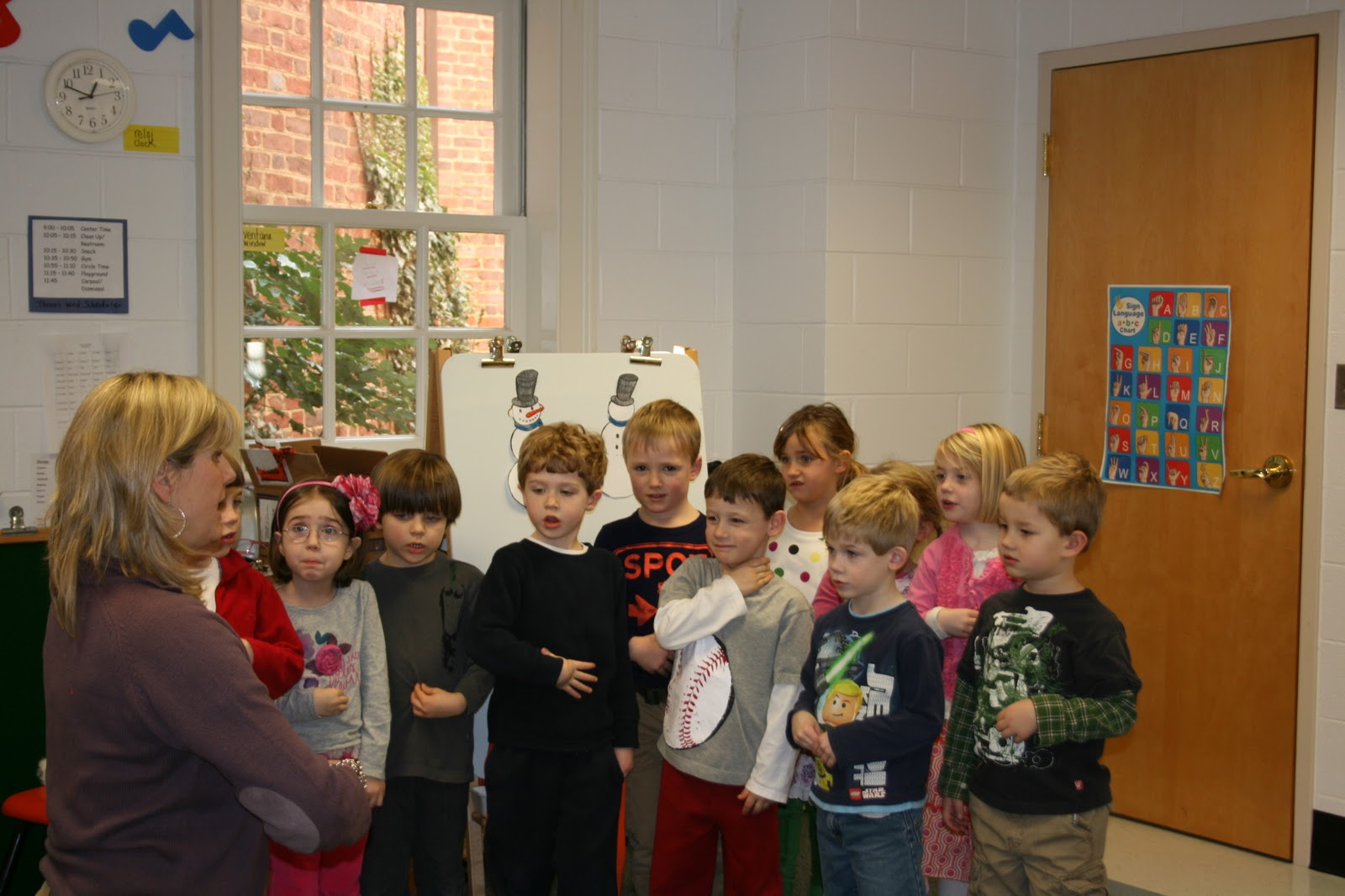 Sign Language In The Preschool Classroom Why Use Sign