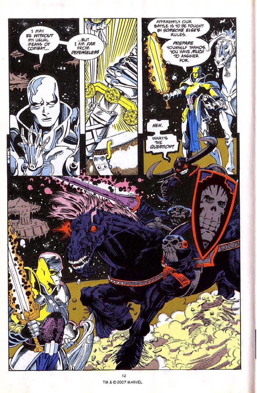 Read online Silver Surfer (1987) comic -  Issue #59 - 14