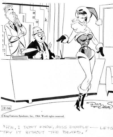 Cartoonist Don Flowers