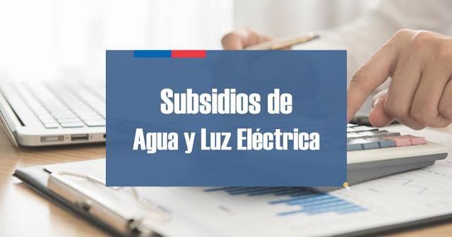 Importante Requisitos básicos para postular al Subsidio de Agua Potable y Luz Eléctrica