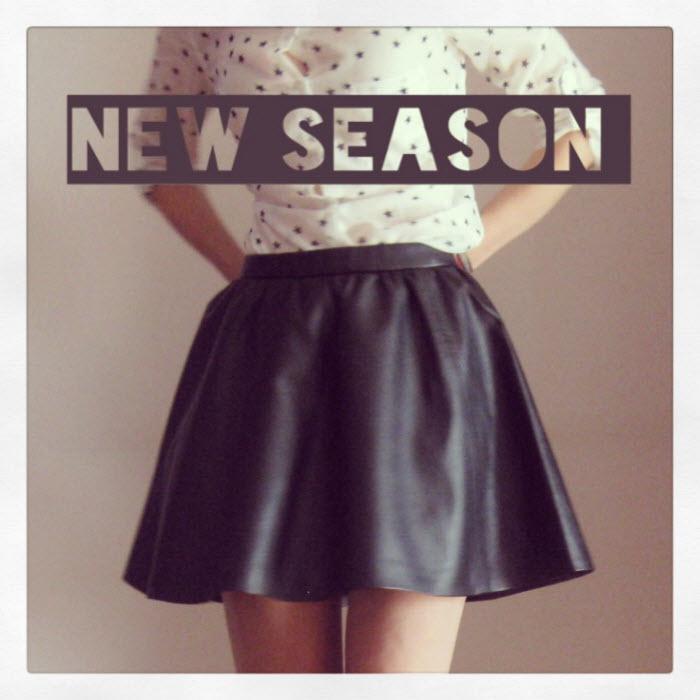14694671f5cd Νέα σεζόν  η δερμάτινη φούστα. Μερικές από τις τάσεις φθινόπωρο 2013 -  χειμώνας 2014 στη μόδα  grunge επιρροές