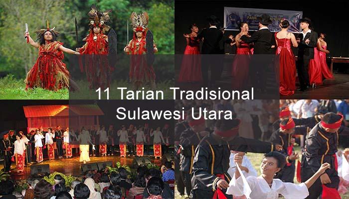 Inilah 11 Tarian Tradisional Dari Sulawesi Utara Dan Penjelasannya