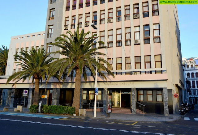 Aprobados 500.000 euros para rehabilitar la sede principal del Cabildo de La Palma