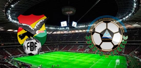 En vivo Bolivia vs. Nicaragua - Amistoso