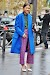 Street Style: Blue Is The Spring Color