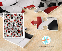 Personalized soccer jigsaw puzzles for girls and boys by katzdzynes