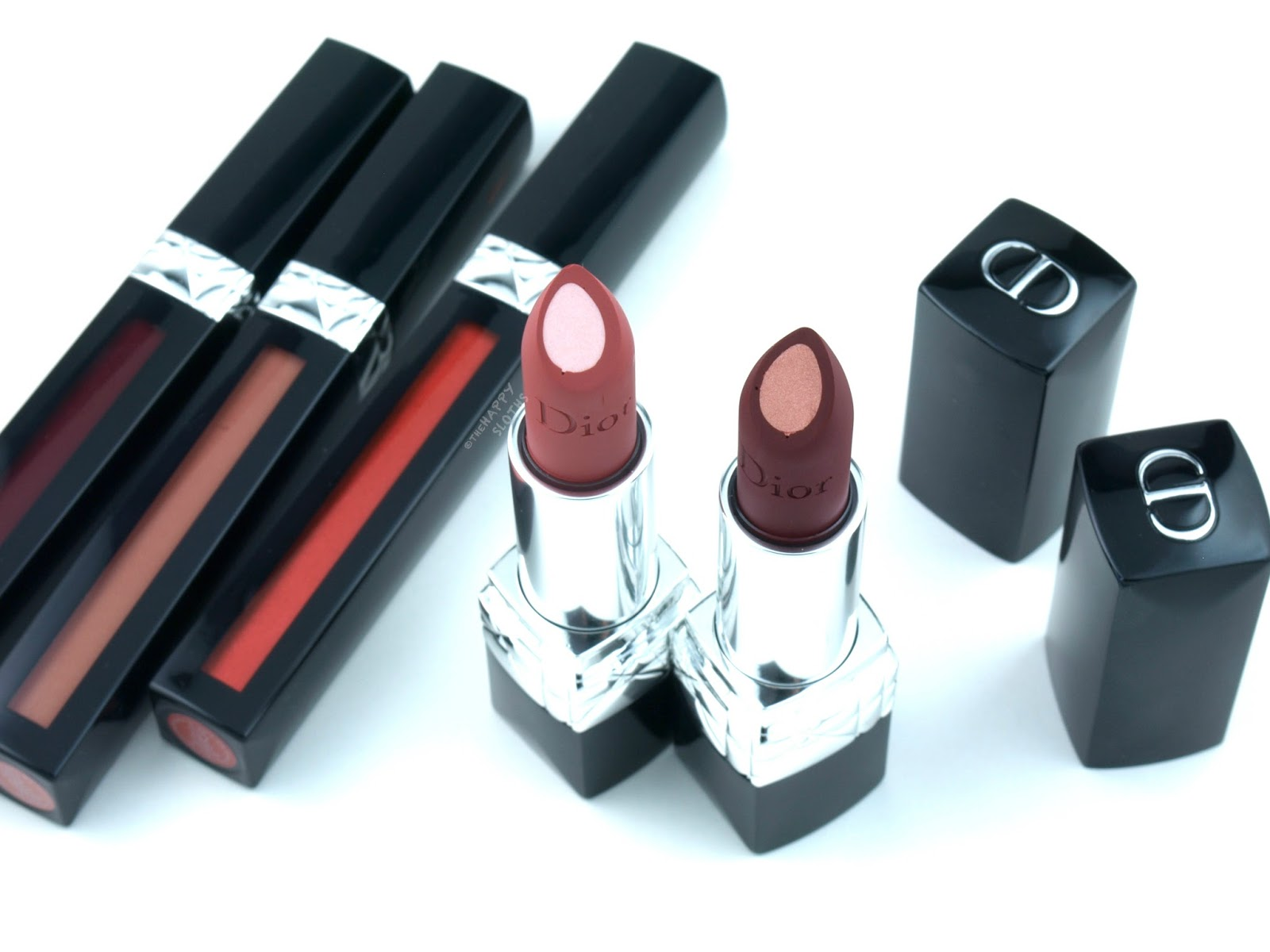 Dior Rouge Dior Double Rouge Lipstick: Review and Swatches
