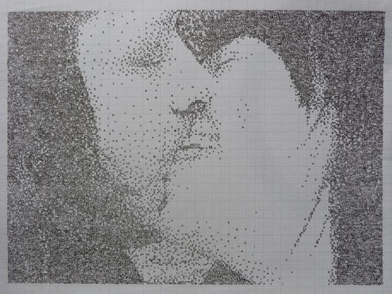 Original artwork by Effie Jessop, featured by Julia Titchfield on Feeling Stitchy