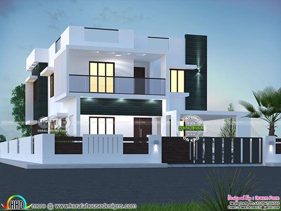 5 bedroom  2580 sq.ft  modern home design